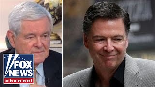 Download Newt Gingrich: Comey is almost a pathological liar Video