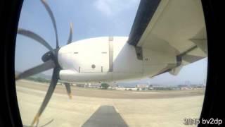 Download 2015.9 立榮航空Uni Air ATR72-600 臺北松山機場TSA - 臺東機場 TTT 航程景 Video