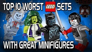 Download Top 10 Worst LEGO Sets with Great Minifigures Video