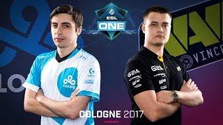 Download CS:GO - Cloud9 vs. Na'Vi [Overpass] Map 2 - Semifinal - ESL One Cologne 2017 Video