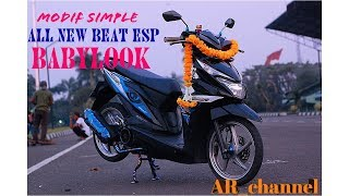 Download MODIF SIMPLE ALL NEW HONDA BEAT ESP BABYLOOK Video