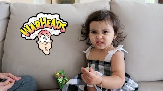 Download BABY VS. EXTREME SOUR WARHEAD (HILARIOUS REACTION) Video