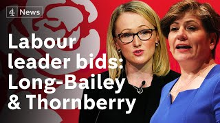 Download Who will replace Corbyn? Long-Bailey and Thornberry launch Labour leadership campaigns Video