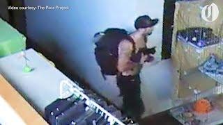 Download Shirtless, bowl-smoking bandit steals kitten from Portland pet shelter Video