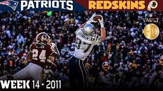 Download Gronkowski's Record-Breaking Day! (Patriots vs. Redskins, 2011) | NFL Vault Highlights Video