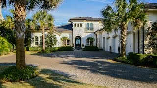Download Waterfront Mediterranean Revival Home | 2336 Ocean Point Drive | Landfall Video