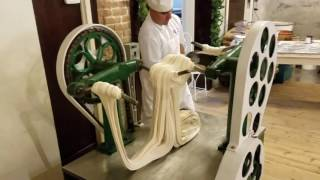 Download Making Saltwater Taffy at La King's Confectionery on the Historic Strand in Galveston, Texas Video