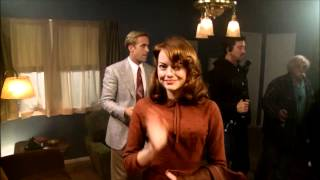 Download Gangster Squad - Ryan Gosling and Emma Stone joke on set Video