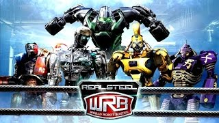 Download Real Steel WRB RIP OFF ALL ROBOTS Series of fights NEW ROBOT (Живая Сталь) Video
