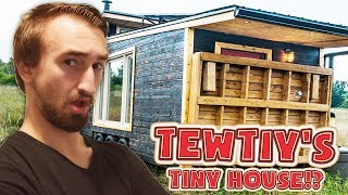 Download VISITING TEWTIY'S TINY HOUSE!? Video