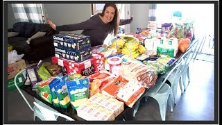 Download Once-A-Month Grocery Haul for our Large Family - Feeding them Healthy Food! Video