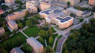 Download Soaring over campus Video