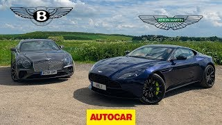 Download Bentley Continental GT vs Aston Martin DB11 AMR | Two great GT cars reviewed | Autocar Video