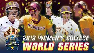 Download Gopher Softball Beats LSU! World Series Bound! Video