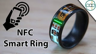 Download Making an NFC Enabled Smart Ring with Tritium and Forged Carbon Fiber Video