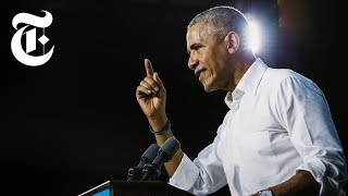Download Will Obama's Fiery Attacks Against Trump Help Democrats? | NYT News Video