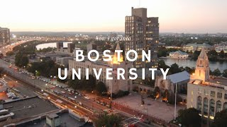 Download How I Got into Boston University Video