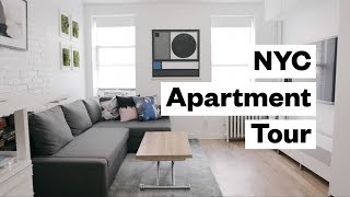 Download Apartment Tour! 300 sq. foot studio in NYC Video
