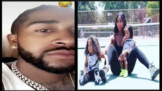 Download Apryl Jones BLASTS Omarion~″you don't see your kids, stop fronting for IG!″ Video