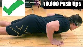 Download 10,000 PUSH UPS CHALLENGE: Build MORE Muscle + Stronger Shoulders Video