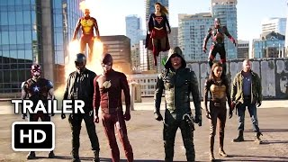 Download The Flash, Arrow, Supergirl, DC's Legends of Tomorrow 4 Night Crossover Event Trailer (HD) Video