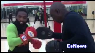 Download Adrien Broner Last Workout Before Mikey Garcia Fight EsNews Boxing Video