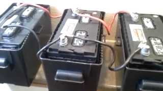 Download Installing 4kW/Hr battery bank with 800W 120V Inverter and Trickle Charger from Tactical Woodgas Video