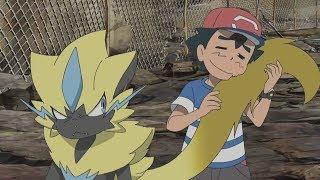 Download Ash Vs Zeraora [FULL FIGHT] - Pokemon Sun and Moon Episode 100 and 101「AMV」 Video