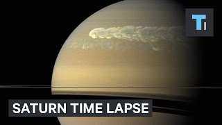 Download NASA released a stunning time-lapse of Saturn Video
