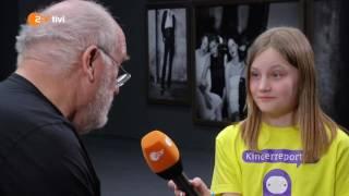 Download Sarah trifft Starfotografen Peter Lindbergh - logo!-Kinderreporter - ZDFtivi Video