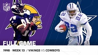 Download Randy Moss & Vikings Torch the Cowboys | Thanksgiving 1998 | NFL Full Game Video