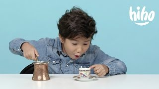 Download Coffee | American Kids Try Food from Around the World | Ep 7 Video