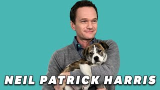 Download Neil Patrick Harris Plays With Puppies (While Answering Fan Questions) Video