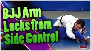 Download Brazilian Jiu-Jitsu: Arm Locks from Side Control - Master Marcus Vinicius Di Lucia Video