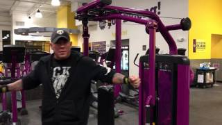 Download Planet Fitness Chest Fly Machine - How to use the chest fly and rear delt exercise machine Video