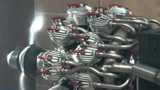 Download 18-Zylinder Doppelstern mit 700 ccm, Probelauf Video