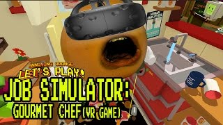 Download Annoying Orange Plays - Job Simulator #3: Gourmet Chef! Video