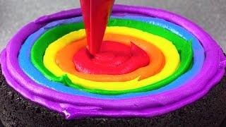 Download Amazing Rainbow Cakes: Most Satisfying Cake Decorating Compilation Tutorials Video