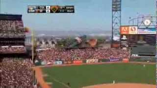Download Angel Pagan Walk-Off Inside the Park HR (KNBR + CSN) Video