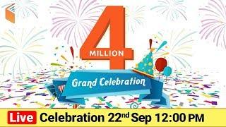 Download 4 Million Live Celebration | wifistudy Video