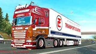 Download Euro Truck Simulator 2 # Scania Ronny Ceusters NightFlyer III R500 V8 (แต่งรถกันเถอะ # 25 ) Video