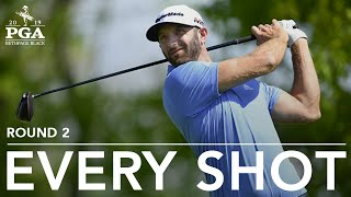 Download Dustin Johnson: Every shot in 2nd-round 67 at 2019 PGA Championship Video