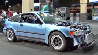 Download Turbo Honda CRX vs ALL - Arizona STREETS Video