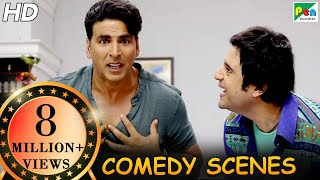 Download Akshay Kumar Comedy Scenes | Back To Back Comedy | Entertainment | Tamannaah Bhatia, Johnny Lever|HD Video
