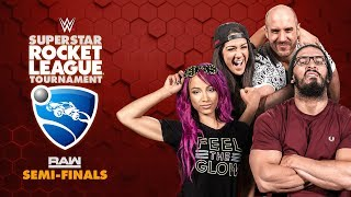Download HUGGIN' UPPERCUTS (Bayley/Cesaro) vs. NASHA (Sasha/Neville) — Rocket League Tournament Raw Semis Video