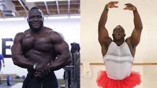 Download Bodybuilders Try Ballet For The First Time Video