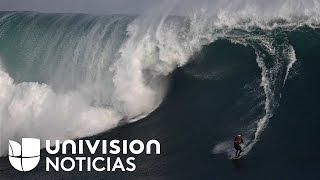 Download Nazaré: una máquina de olas con la que sueñan los surfistas Video