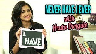 Download Never Have I Ever With Hruta Durgule   Marathi Actress   Phulpakharu & Durva Marathi Tv Serial Video