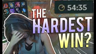 Download Pokimane ~ THE HARDEST WIN OF MY LIFE Video