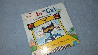 Download Pete The Cat ~ Wheels On The Bus Children's Read Aloud Story Book For Kids By James Dean Video